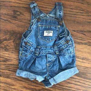 OshKosh cute overalls 9 months